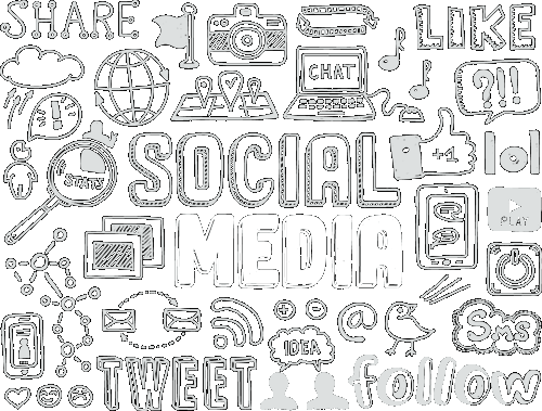 our social media marketing