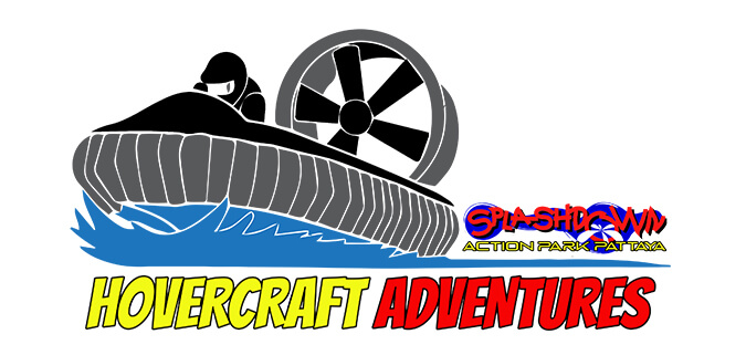 Hovercraft Adventures Pattaya Logo Design