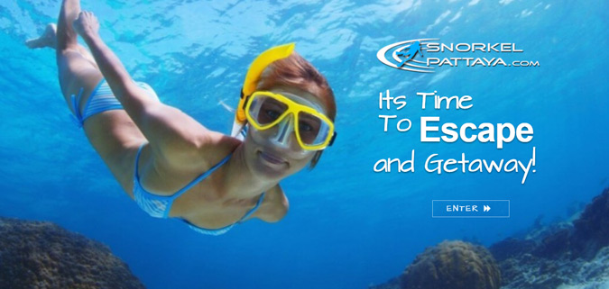 clients Snorkel Pattaya Website Design