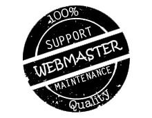 Webmaster support and maintenance