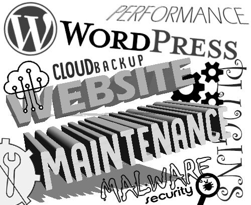 Wordpress Website Maintenance updates